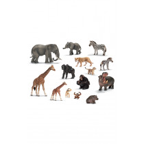Schleich African Animals and their Young Set of 14