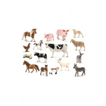Schleich Farm Animals and their Young Set of 14