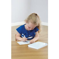 Double Sided A5 Plain Whiteboards 30pk
