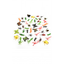 96 pk Mini Assorted Insects