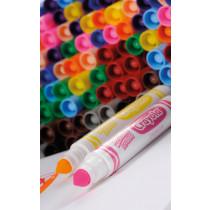 Crayola Broadline Washable Felt Tip Pens 144pk