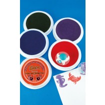 Giant Washable coloured ink pads