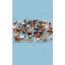 Mini Farm Animals 48pk