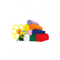 Assorted mini chenille pipe cleaners