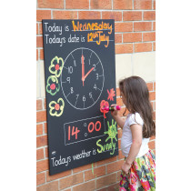 Telling The Time Chalkboard