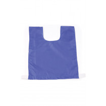 NYLON TRAINING BIB MEDIUM BLUE