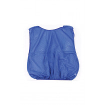 MESH TRAINING BIB LARGE BLUE