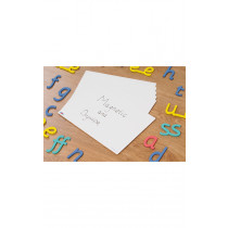 A4 Whiteboard for Magnetic Letters 6 PK