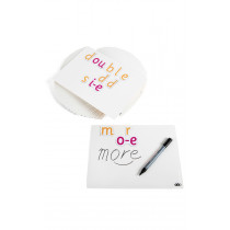 A4 Whiteboard for Magnetic Letters 30 PK