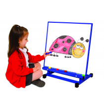 Large Multipurpose Desktop Easel Blue