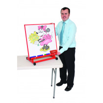 Large Multipurpose Desktop Easel Red