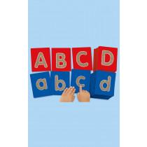 Tactile Alphabet Letters Lowercase 26pk