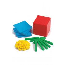 Multi Coloured Base Ten Class Set