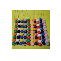 Bi-Colour Sum Thing Counting String - 10 Pack