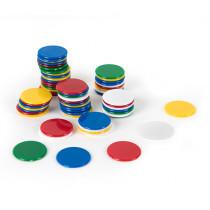 Multicoloured 20mm Plastic Counters 1000pk