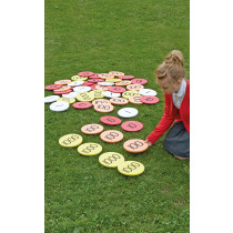 Outdoor Place Value Counters