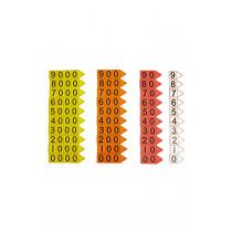 Place Value Arrows - Singapore Colours
