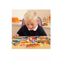 Coloured Plastic Number Rods 444pk