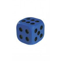 Giant Rubber Dots Dice With Indented Dots