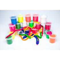 Soft Dough Tubs Assorted Colours
