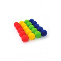 Low Bounce Foam Balls 7cm 20pk