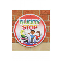 Buddy Stop Playground Sign Without Stand