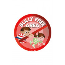 Bully Free Area Playground Sign Wall Mountable
