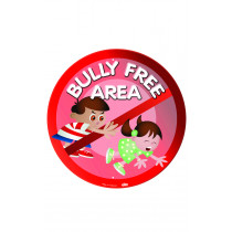 Bully Free Area Playground Sign With Stand