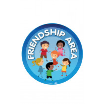 Friendship Area Playground Sign Wall Mountable