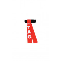 INDIVIDUAL TAG RUGBY BELTS JUNIOR RED