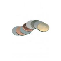 Assorted Metal Discs 25mm 8pk