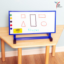 Small Individual Desktop Easel Blue