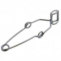 Metal test tube holder