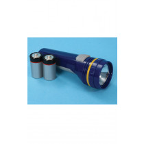 Handheld Torch With 2 D Type Batteries