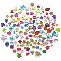 Jewels Acrylic Colours - Stick & Peel
